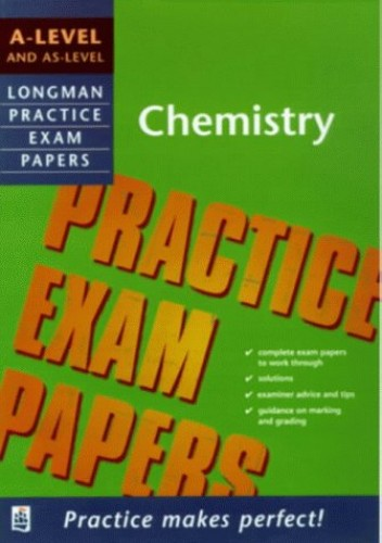 Longman Exam Practice Kits: A-level Chemistry By Michael C. Cox