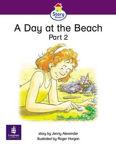 A Day at the Beach Part 2 Story Street Emergent Stage Step 5 Storybook 4 1 By Jenny Alexander
