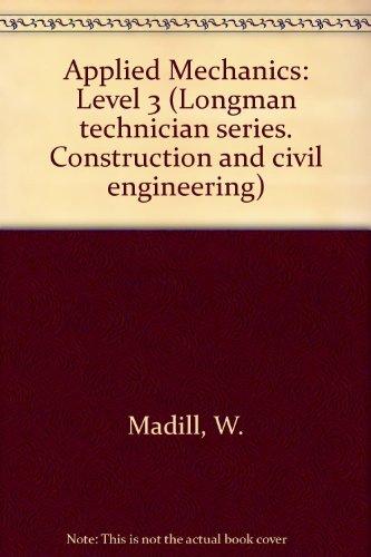 Applied Mechanics By W. Madill
