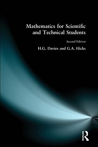Mathematics for Scientific and Technical Students by H. G. Davies