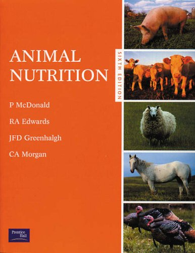 Animal Nutrition by Peter McDonald