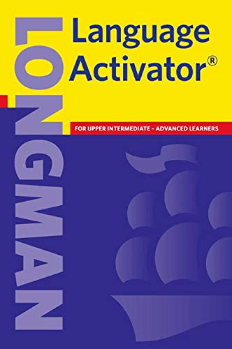Longman Language Activator Paperback New Edition by