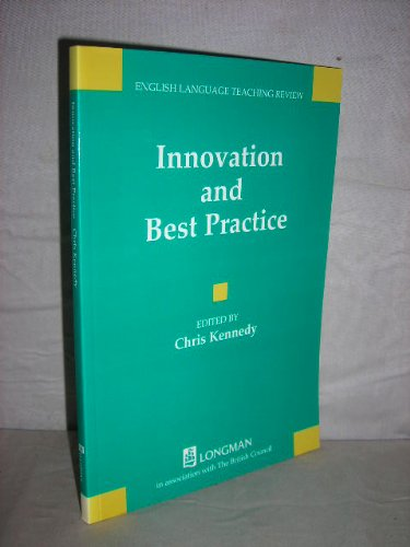 ELTR:Innovation and Best Practice Paper By C. Kennedy