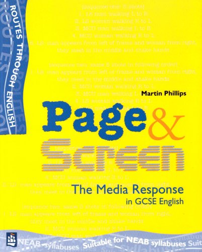 Media: Page and Screen Student's Book By Martin Phillips