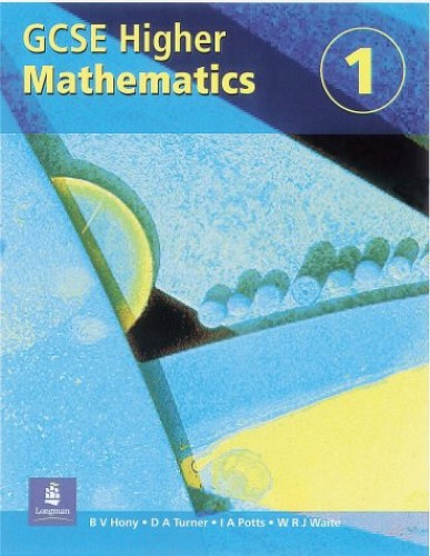 Higher GCSE Maths Student's Book 1 Paper: Student's Book Bk. 1 by Viv Hony