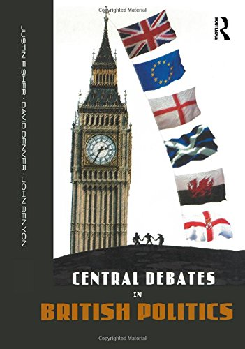 Central Debates in British Politics By John Benyon