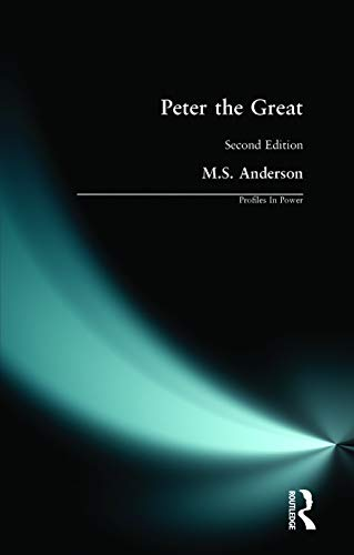 Peter the Great By M.S. Anderson