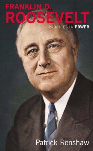 Franklin D Roosevelt By Patrick Renshaw