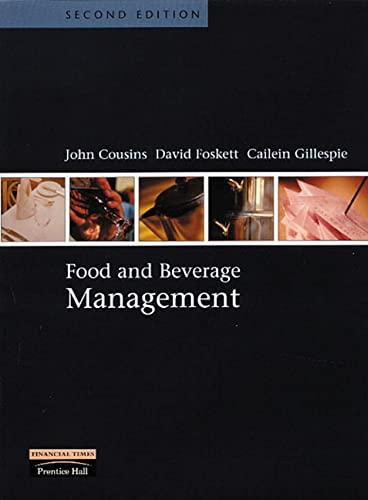 Food and Beverage Management By John A. Cousins
