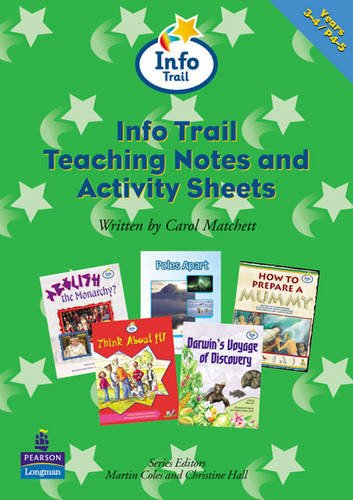 Info Trail Teaching Notes and Activity Sheets Y3-4 Info Trail Teaching Notes & Activity Sheets Yr 3-4 By Carol Matchett