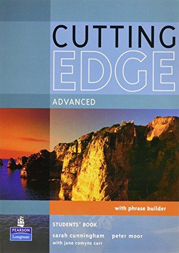 Cutting Edge Advanced Student Book by Sarah Cunningham