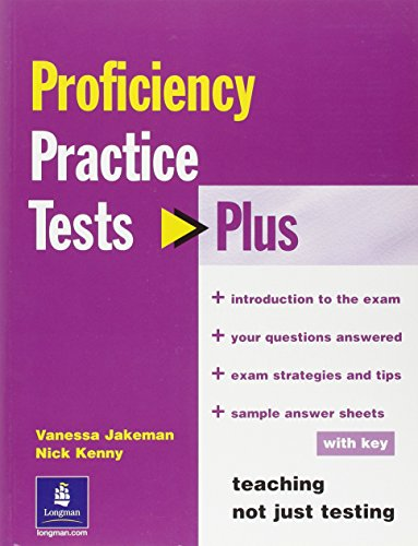 Practice Tests Plus CPE With Key By Nick Kenny