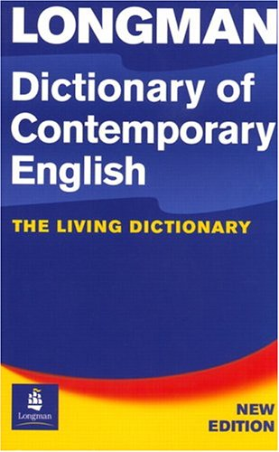 L Dictionary of Contemporary English 4th. Edition, Paper + CD-ROM Pack By LONGMAN
