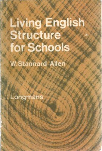 Living English Structure By William Stannard Allen