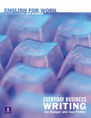 English For Work:Everyday Business Writing Paper by