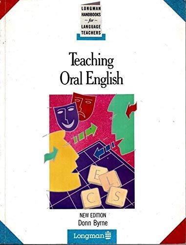Teaching Oral English By Donn Byrne