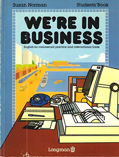 We're in Business Student's Book By Susan Norman