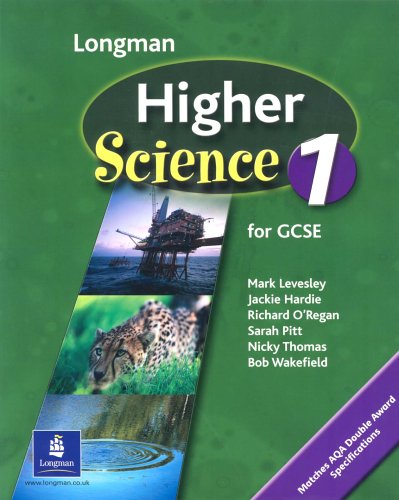 Higher Science Pupils Book 1 Key Stage 4 By M. Levesley