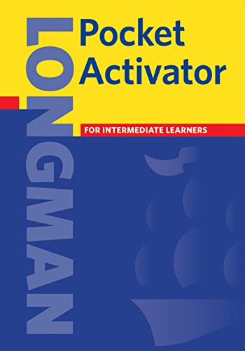 Longman Pocket Activator Dictionary Cased By Pearson Education