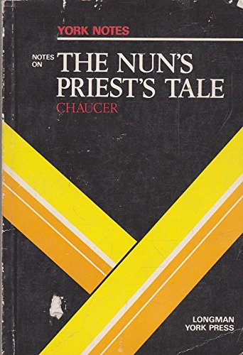 """Notes on Chaucer's """"Nun's Priest's Tale"""" By Anna Spackman"""