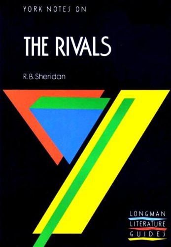 The Rivals By Edited by A.N. Jeffares