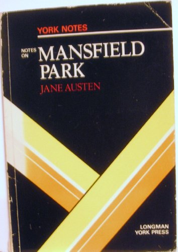 """Jane Austen, """"Mansfield Park"""" By Barbara Hayley"""