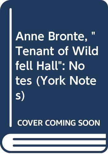 "Anne Bronte, ""Tenant of Wildfell Hall"" By Hana Sambrook"