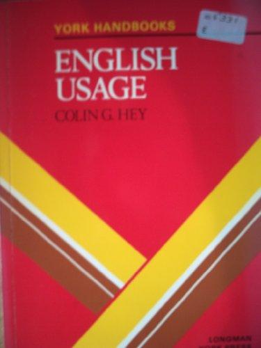 English Usage By C.G. Hey