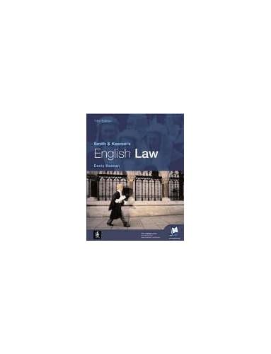 Smith & Keenan's English Law By Denis Keenan