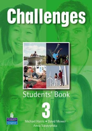 Challenges Student Book 3 Global By David Mower