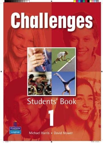 Challenges Student Book 1 Global By David Mower