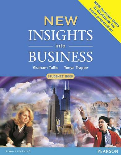 New Insights into Business Students' Book New Edition By Tonya Trappe