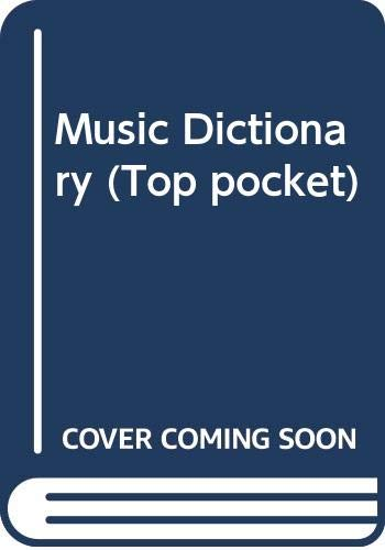Music Dictionary (Top pocket)