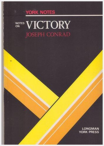 """Joseph Conrad, """"Victory"""" By Hana Sambrook"""