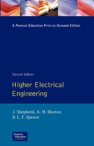 Higher Electrical Engineering By John Shepherd