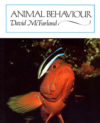 Animal Behaviour By David McFarland