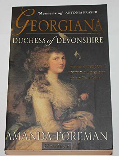Georgiana Duchess of Devonshire by Unknown Author