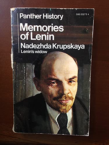 Memories of Lenin By Nadezhda Krupskaya