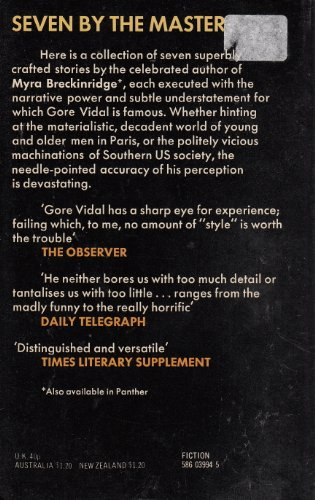 Thirsty Evil By Gore Vidal