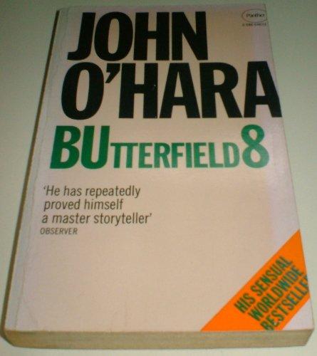 Butterfield 8 By John O'Hara