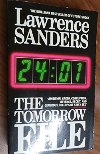 The Tomorrow File By Lawrence Sanders