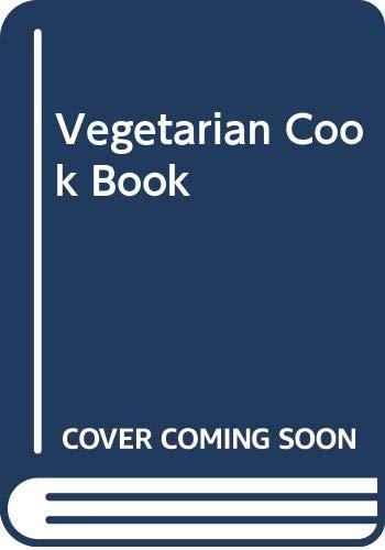 Vegetarian Cook Book By Sarah Brown