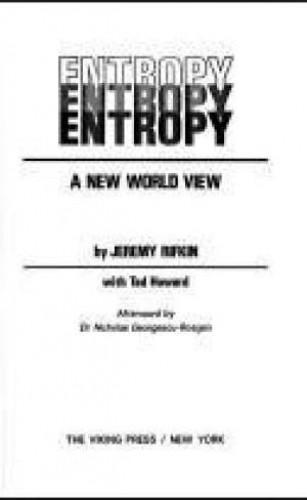 Entropy By Jeremy Rifkin