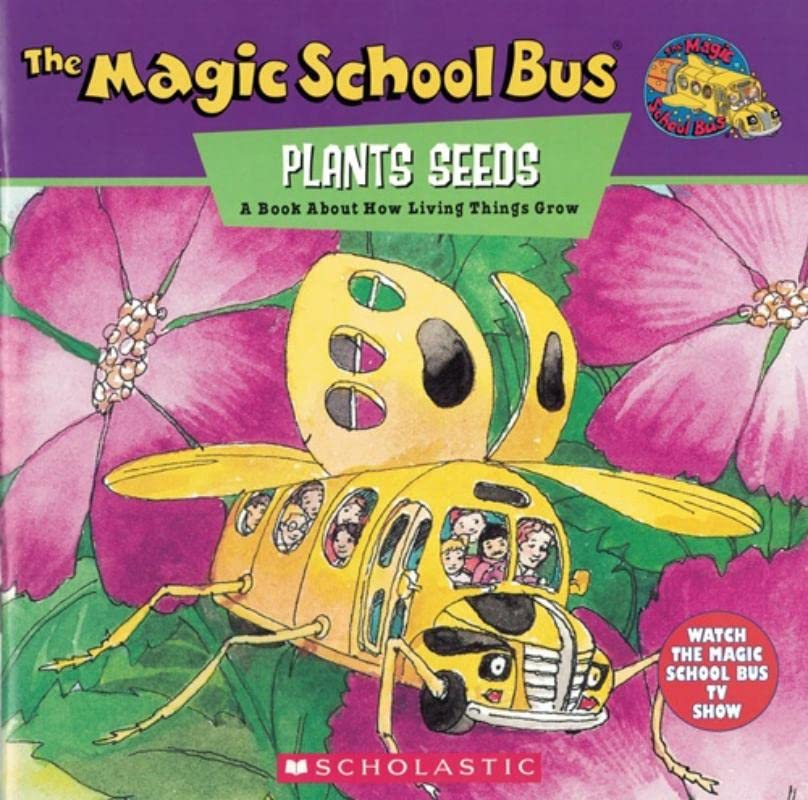 The Magic School Bus Plants Seeds By Patricia Relf