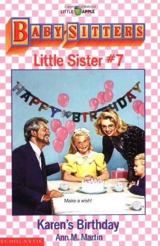 Karen's Birthday By Ann M. Martin