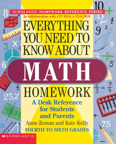 Everything You Need to Know about Math Homework By Anne Zeman