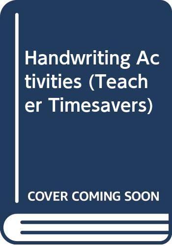 Handwriting Activities By Angela Redfern