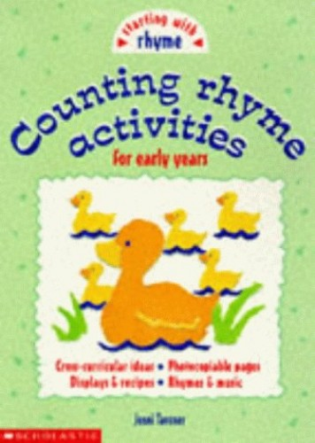 Counting Rhyme Activities By Jenni Tavener