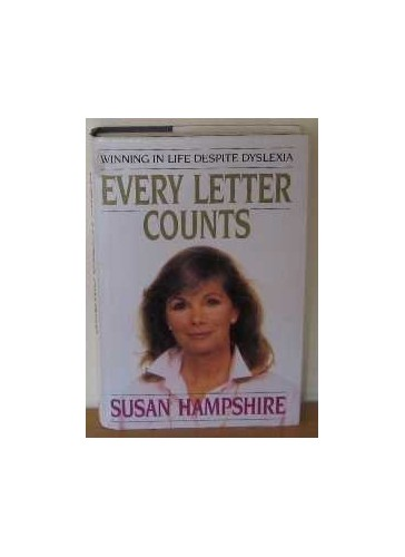 Every Letter Counts By Susan Hampshire