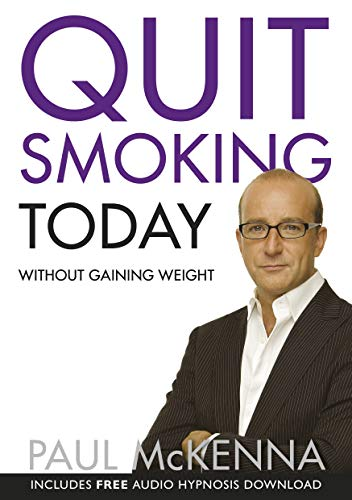 Quit Smoking Today Without Gaining Weight (Book & CD) By Paul McKenna
